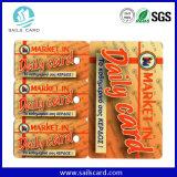 Карточка UV Barcode полного цвета хорошего качества пластичная анормалная