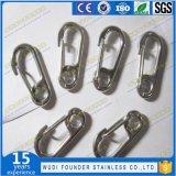 SS304 или SS316 фиксирующий крюк пружины из нержавеющей стали
