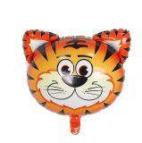 Moyen de la tête d'animaux ballon en aluminium pour les enfants partie décoration