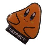 最も新しい卵形の金属のカスタム保安官のバッジの金属のロゴのバッジ