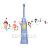 Eléctrico musical azul hizo el cepillo de dientes