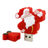 Venda por grosso Pen Drive Cartoon Boneco de Natal