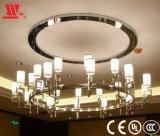 Metallkunst-Anhänger mit Glaslampenschirm