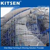Commerce de gros travaux de construction Système Scafolding bague en aluminium pour la vente d'échafaudage de verrouillage