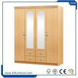 流行のホーム家具のカスタムサイズカラーMDFの現代木の寝室のワードローブ