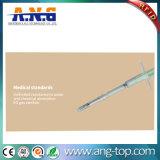 Tag encaixado injetor do vidro da cápsula RFID da seringa do microchip do animal de estimação
