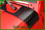 Armatura del cappuccio di angolo dell'involucro del cappuccio per il Wrangler 2007+ della jeep