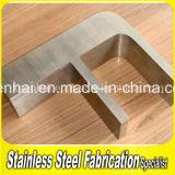 Tekens van de Douane van het Roestvrij staal van het Metaal van de Reclame van Oudoor Hairline 3D