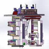 El nuevo estilo puede ser impresora flexográfica modificada para requisitos particulares de la prensa de la taza de papel de 4 colores