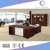Muebles modernos en forma de L mesa ejecutiva de Office con mesa lateral (CAS-MD18A93)