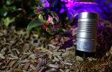 illuminazione del punto del giardino di 3W IP65 LED, indicatore luminoso di paesaggio