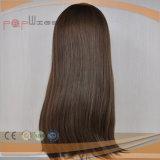 Peruca da parte superior do escalpe do cabelo humano da parte alta (PPG-l-01226)