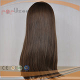 Cabelo humano topo de gama superior de couro cabeludo Peruca (PPG-l-01226)