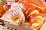 Chimenea comercial horno torta con dieciséis palos de madera para la venta