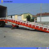 Lager-hydraulische Yard-Rampen-Behälter-Dock-Rampen-bewegliche Laden-Rampe für Gabelstapler