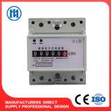 Mètre actif électrique d'énergie de longeron triphasé DIN (étalage de registre)