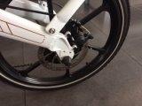 """Bici plegable eléctrica del marco de aluminio completo de la suspensión del Ce 20 """" con la batería de litio ocultada"""