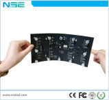Étalage flexible flexible de vente chaud de l'étalage P4mm de rideau en bille DEL de la Chine DEL