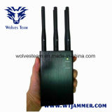 6 jammer Handheld do telemóvel de Bluetooth WiFi GPS 3G 4G Lte da antena