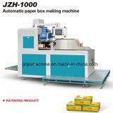 Rectángulo de papel automático de la fruta que erige la máquina