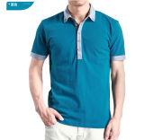 Qualitäts-Baumwollpikee-Mens kundenspezifische Polo-T-Shirts 100%