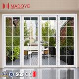 Puertas BI-Plegables resistentes insonoras de la doble vidriera para la entrada del balcón