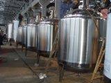 Tanque de mistura do revestimento Heated do aço inoxidável
