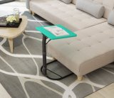 Sala de estar moderna dobrável de plástico Furntiure Sofá Mesa lateral