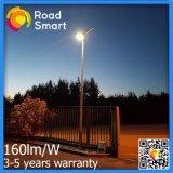 Luz de inundación accionada industrial de la carretera de la calle del panel solar de 60W LED