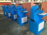De hydraulische Pantoffel die van het Leer van pvc van de Tuimelaar Scherpe Machine maakt
