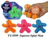 Lustiges neues Pressung Splat Mann-Spielzeug