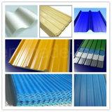Azulejo acanalado de la hoja del material para techos del metal/de material para techos del color de Ral para la vertiente
