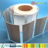 金属のラベルの札のImpinj印刷できるモンツァ4QT UHF RFID
