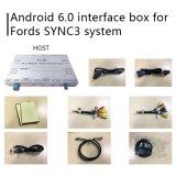 Android 6.0 навигационного GPS для Ford Mondeo Fusion Sync 3 видео интерфейс