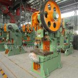 Máquina del sacador de orificio de la hoja de acero de la máquina de la prensa de potencia mecánica de J23-63t