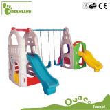 Качание скольжения пластичных детей нового и самого лучшего качества крытое и скольжение