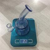 Bontek Großverkauf 6.5 Zoll blaues Glassbong rauchendes KLEKS Anlage-Wasser-Rohr