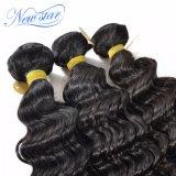 Волна 3 бразильских волос глубокая связывает выдвижение 100% человеческих волос девственницы