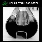高品質手すりのための単一スロットステンレス鋼の溶接された管