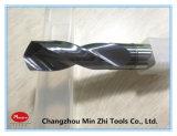 炭化物の螺線形のフルートのツイストドリルの冷却剤の穴のドリル