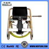 Wopson Farben-Abwasserkanal-Kamera-Gerät mit '' Kabel und Selbst der Schubstange-65, die Kamera nivellieren