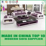 Hölzerne Büro-echtes Leder-Sofa-Möbel