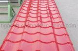Nuevo tipo azulejo de material para techos antiguo del estilo de PPGI/PPGL para Europa