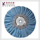 Yiliang faltete Baumwolltuch-Vorspannungs-Büffelleder für Kupferlegierung