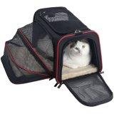 El recorrido/la línea aérea ensanchable casera del portador del animal doméstico del recorrido aprobó para el gato del perro