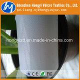 Fita de nylon preta/branca crua do prendedor de Velcro do gancho da injeção