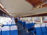 Hq2600 barco de pasajeros de fibra de vidrio de acero de 99 personas