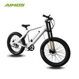 Foldable脂肪質のタイヤ山の電気自転車無し250W