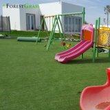 Kunstmatig het Modelleren Groen Gazon/Kunstmatig Gras voor de Speelplaats van de School (MB)