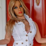 Grosse Brust TPE-reale Geschlechts-Puppe des Fabrik-Preis-148cm